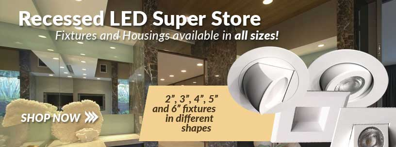 LED Recessed Fixtures from USALight